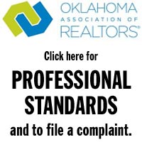 Oklahoma Association of REALTORS, link to Professional Standards to file a complaint